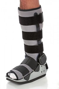 walking cast boot